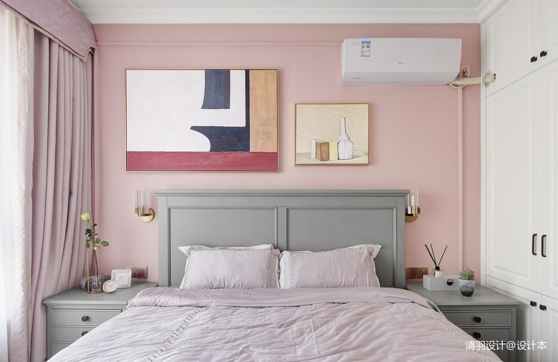 质朴87平现代二居卧室实景图