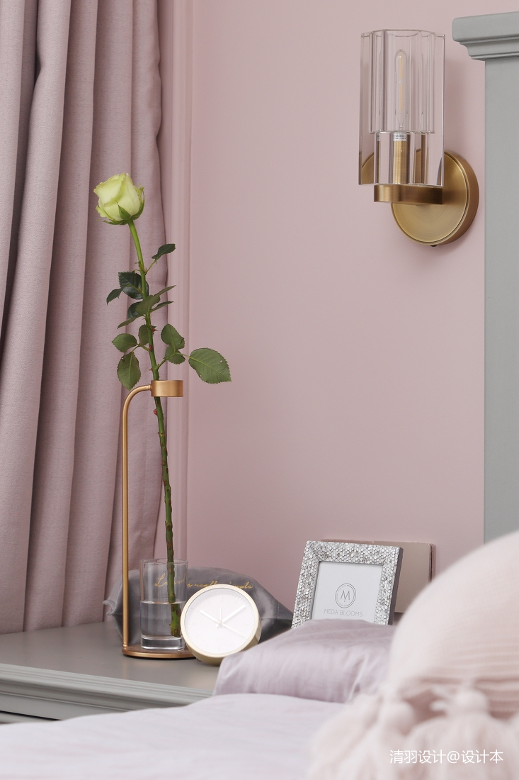 简洁51平现代二居卧室实景图片
