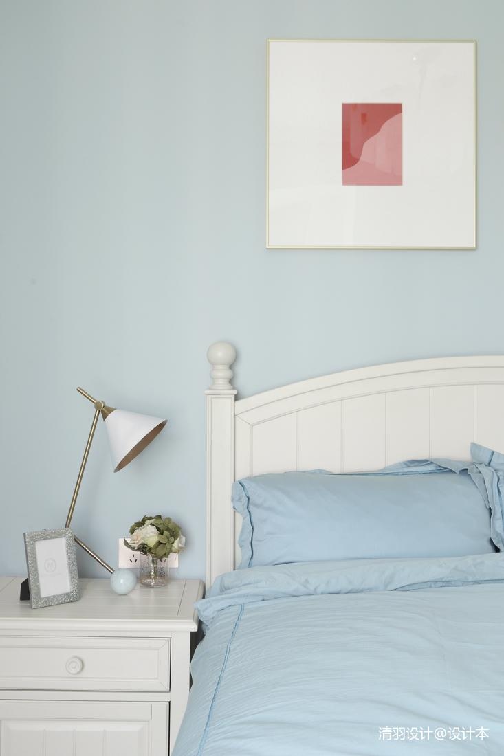 华丽79平现代二居卧室装修设计图