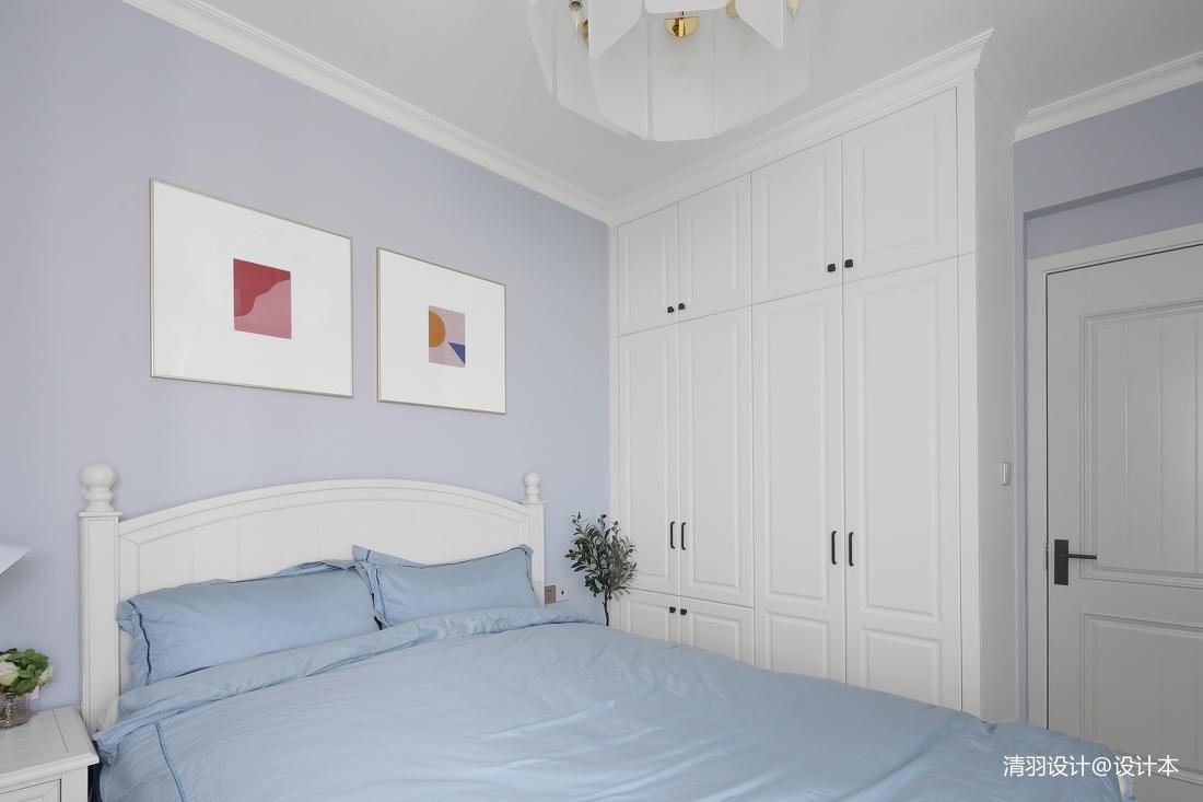 优雅77平现代二居卧室图片大全