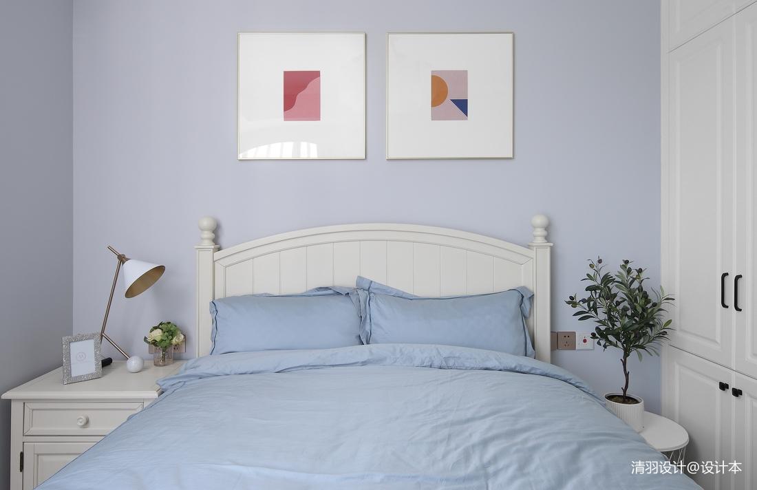 轻奢85平现代二居卧室设计美图
