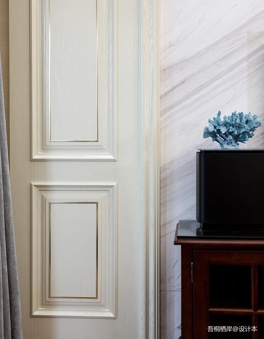 简洁53平美式二居客厅效果图欣赏