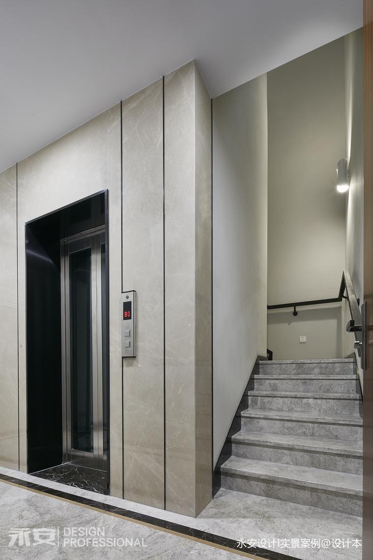 600㎡ 新中式别墅楼梯设计图
