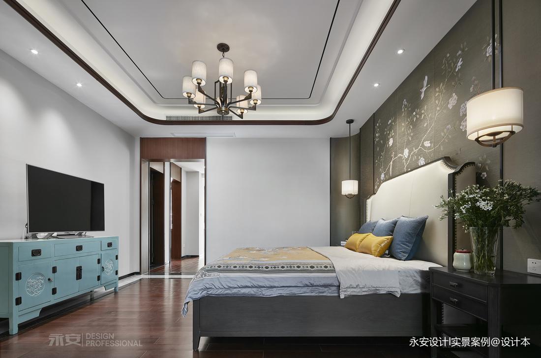 600㎡ 新中式别墅卧室设计图