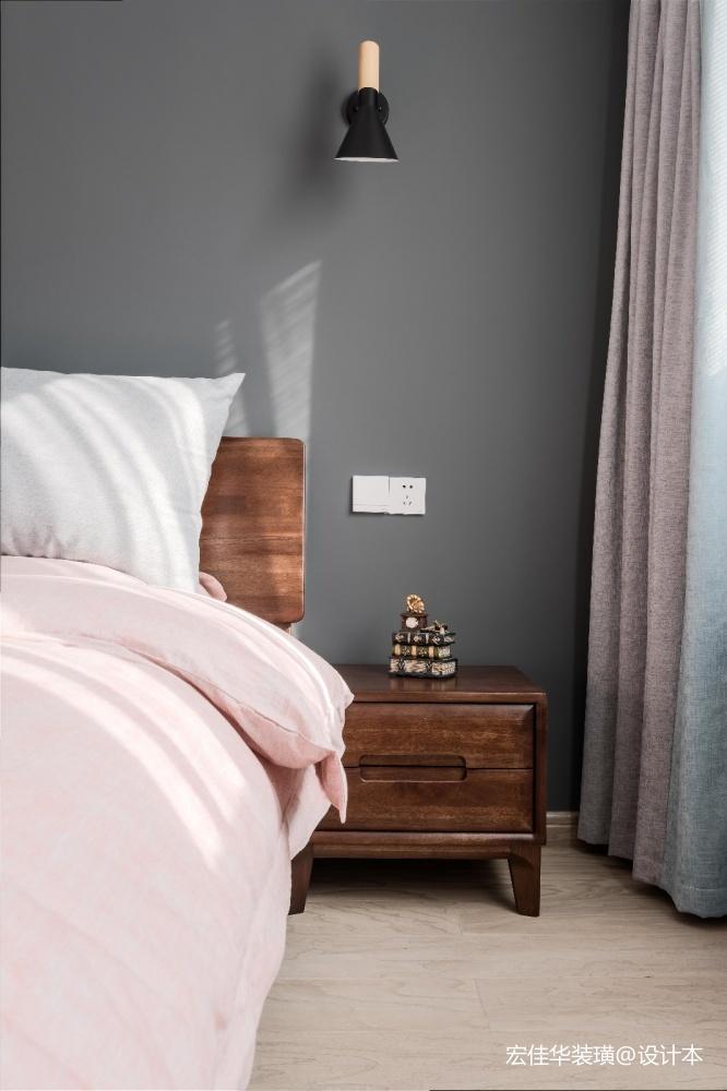 小资现代风卧室设计图