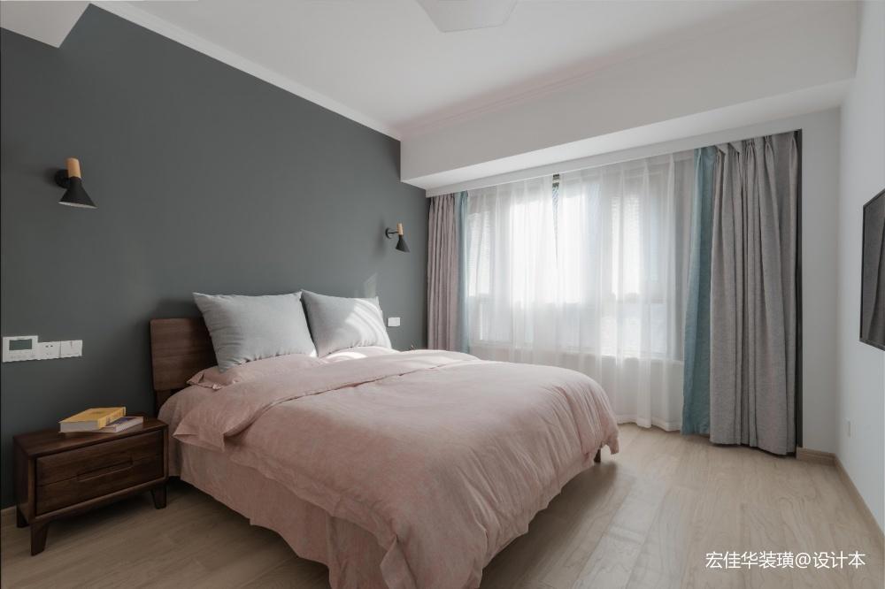 小资现代风卧室设计图片