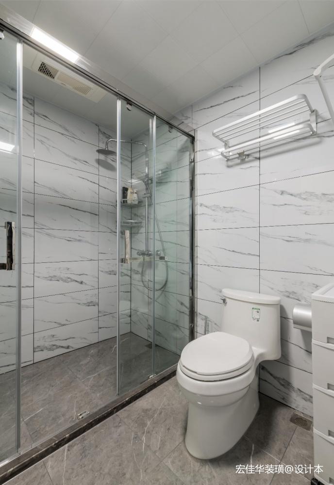 小资现代风卫浴设计图片