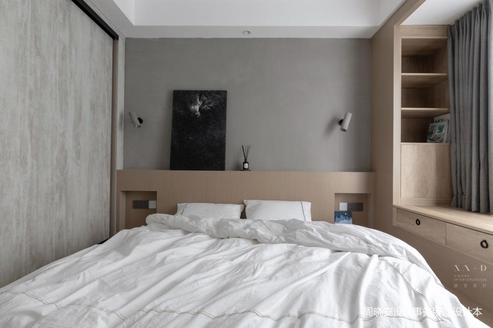 舒适混搭风卧室实景图片