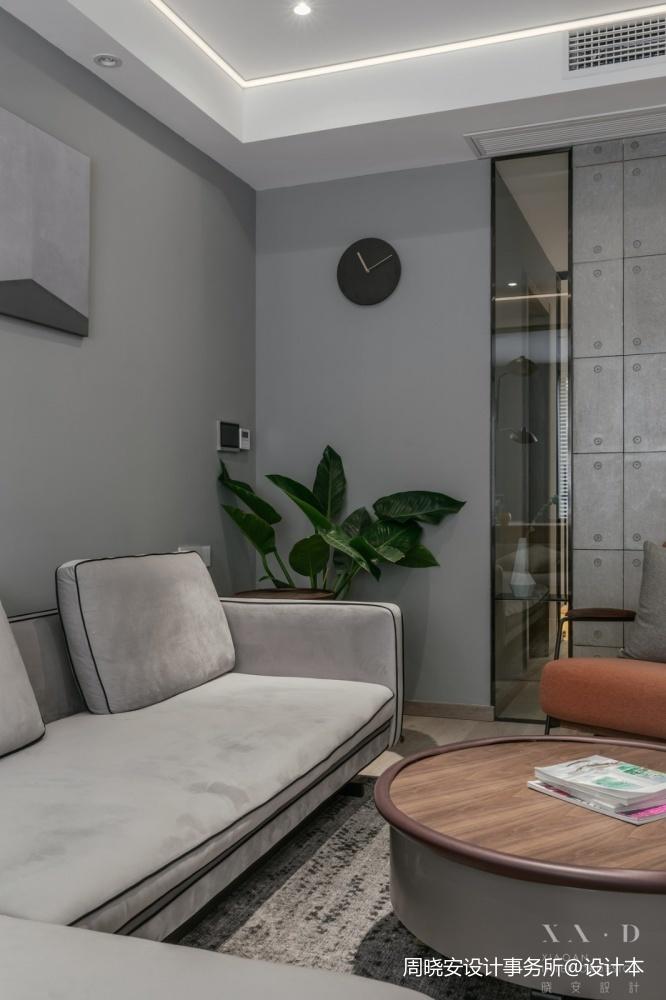 舒适混搭风客厅沙发设计