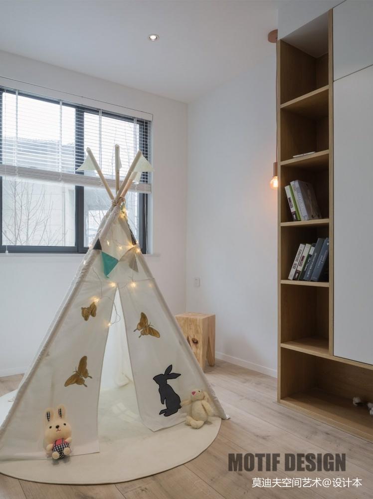 时尚北欧风儿童房设计图片