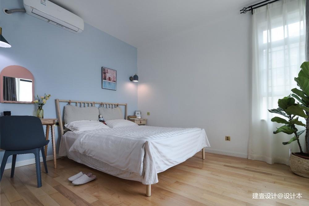 《清风 微蓝》北欧风卧室设计图