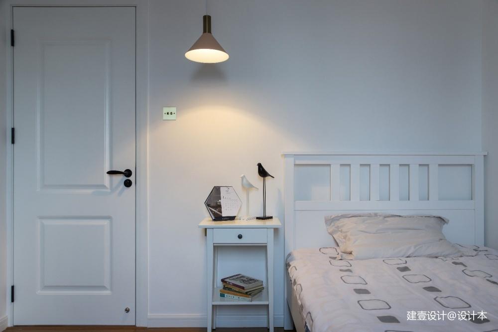《清风 微蓝》北欧风客房设计