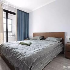 75㎡北欧卧室实景图片