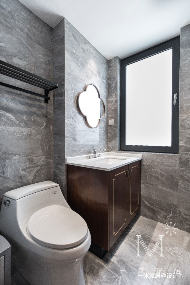 140㎡优雅中式卫浴设计