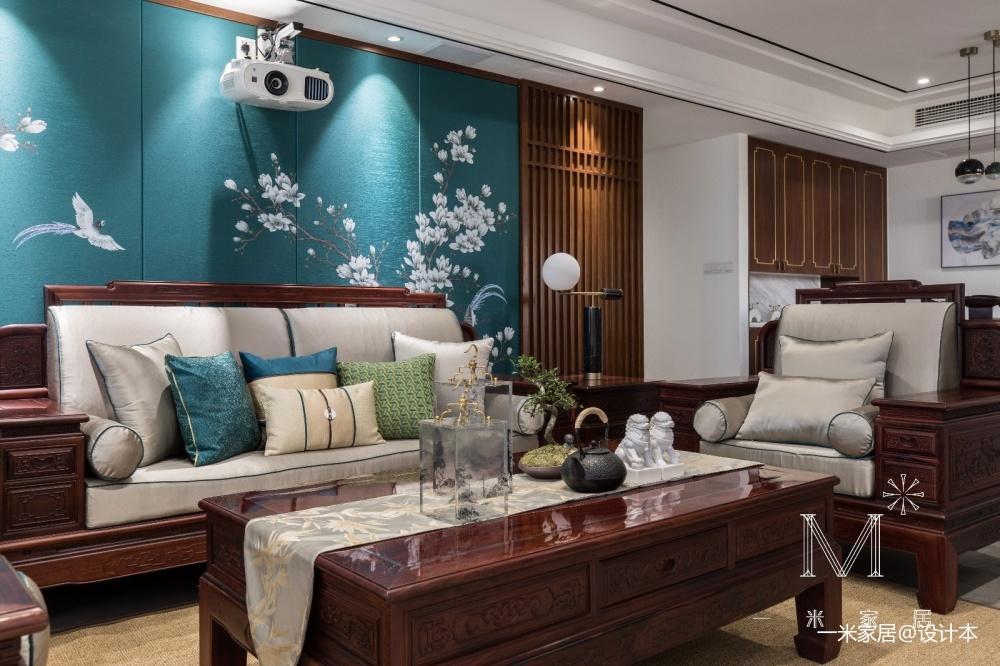 【一米家居】香蘭雅室 140㎡优雅中式_3580208