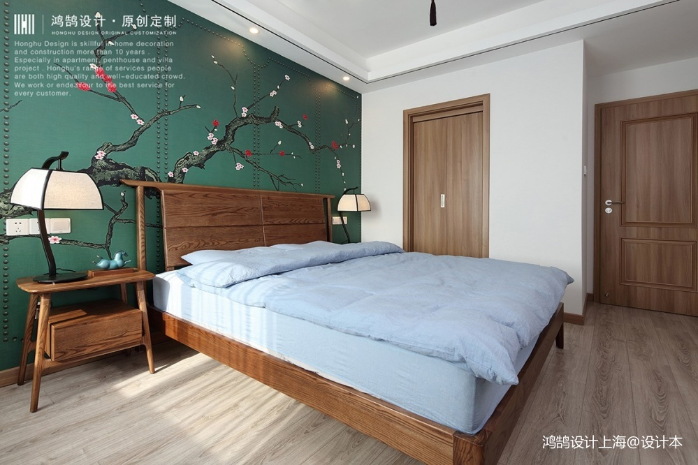 中式现代主卧设计图片