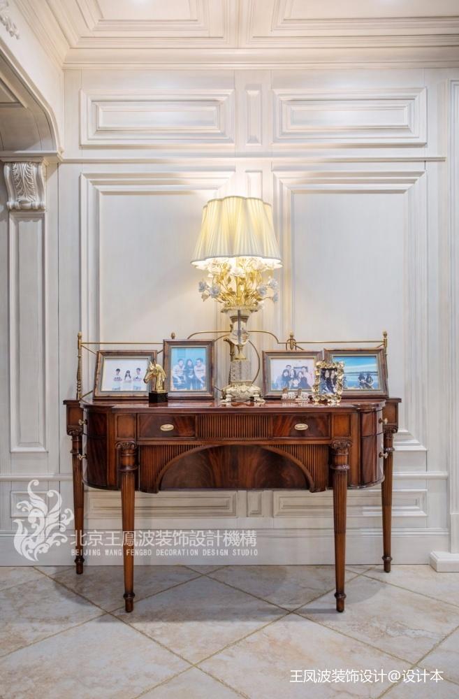 法式風格別墅玄關實景圖