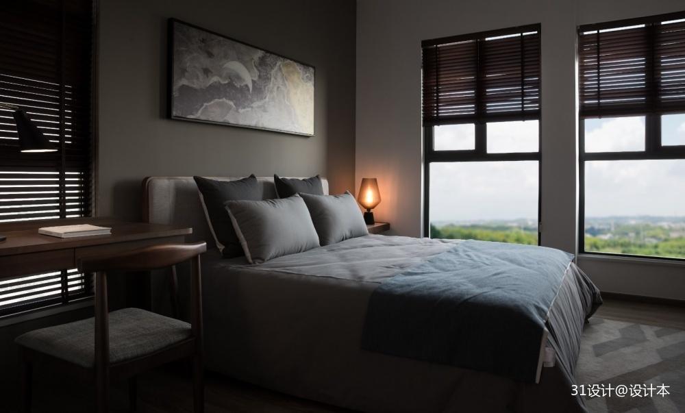简约北欧风卧室设计图