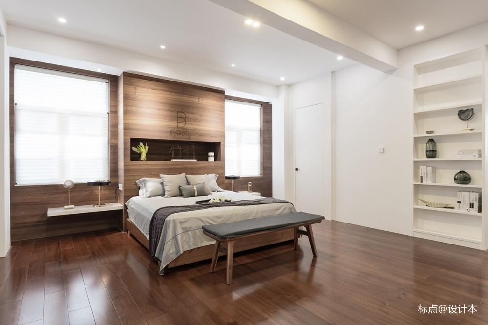 品质简约风卧室实景图片