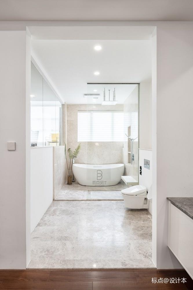 品质简约风卫浴设计图