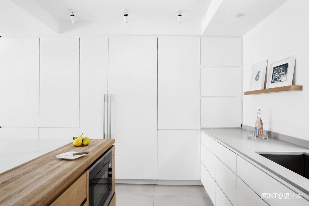 美国单身公寓现代简约装修效果图