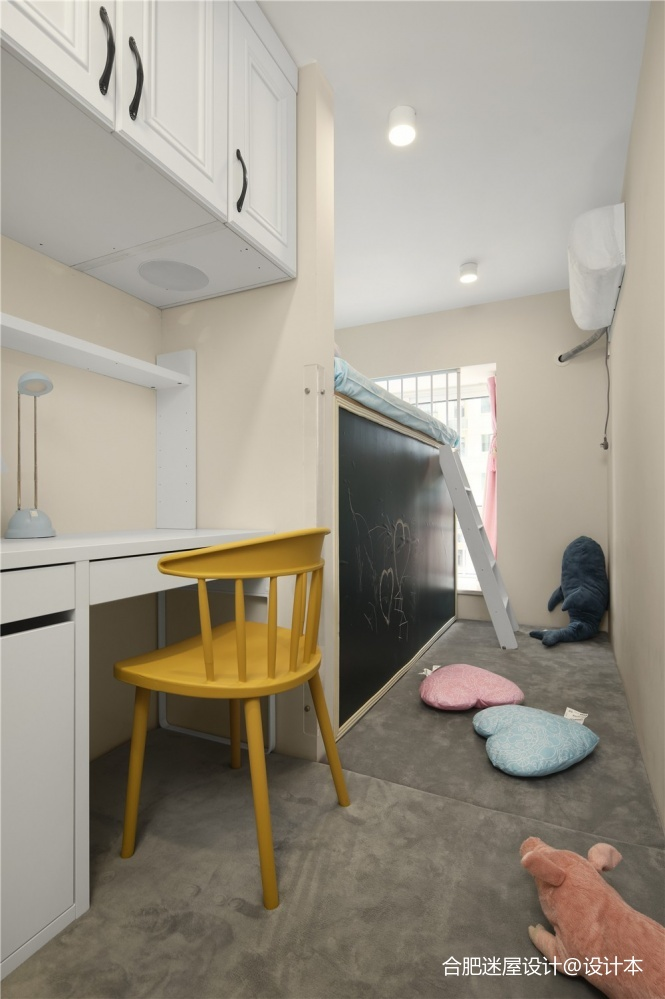 这个设计好大胆,主卧直接变成两个儿童房!_3613461