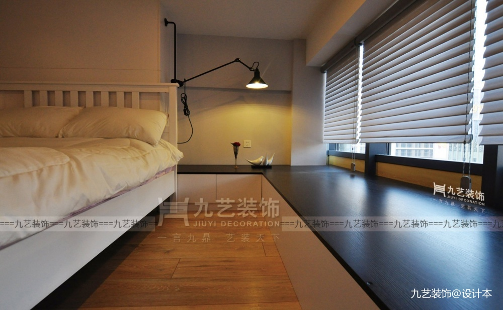 Loft理想生活,廣州45㎡黑白個性空間_3653769