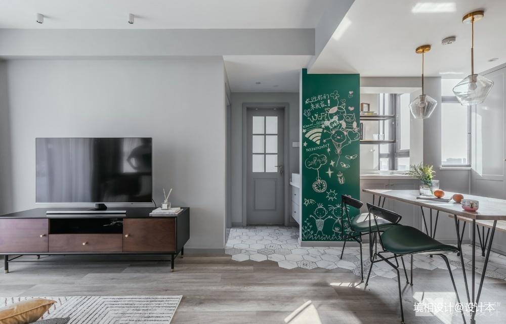 打通2套小公寓,获得舒适的生活大空间_3721963