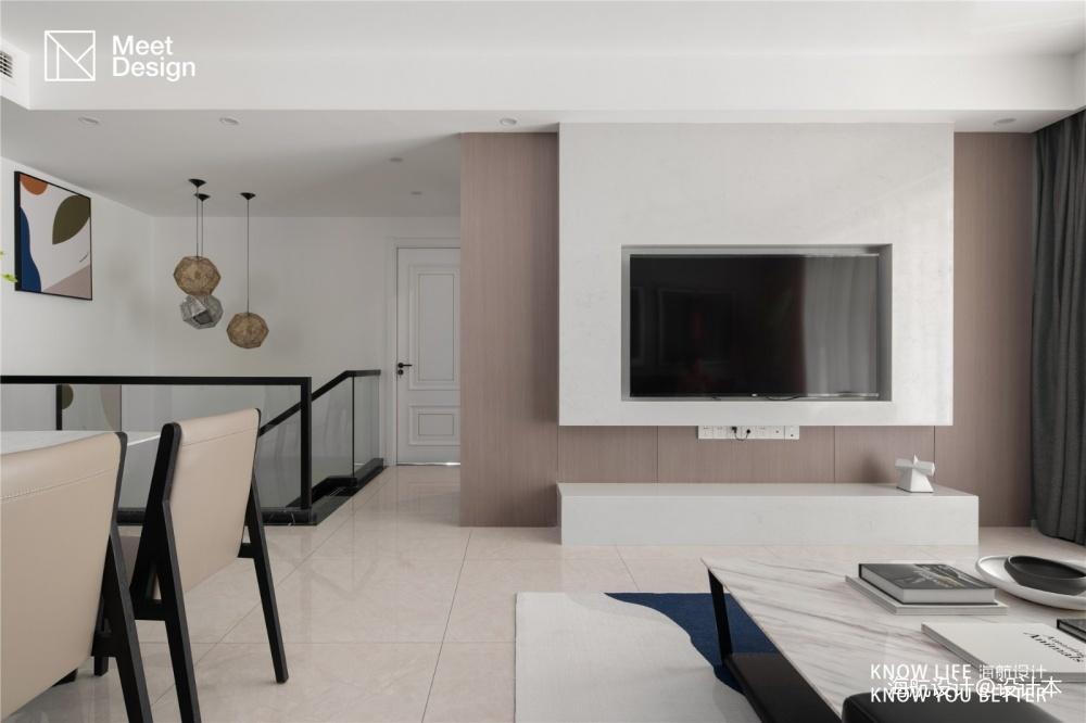 复式小楼,半色空间,现代简约百看不腻_3747997