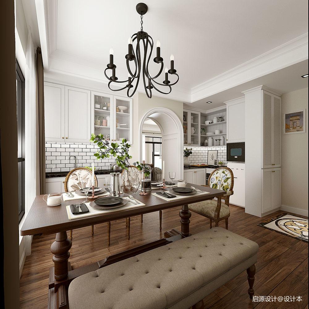 安然年华 • 美而不腻的简美住宅空间_3761501