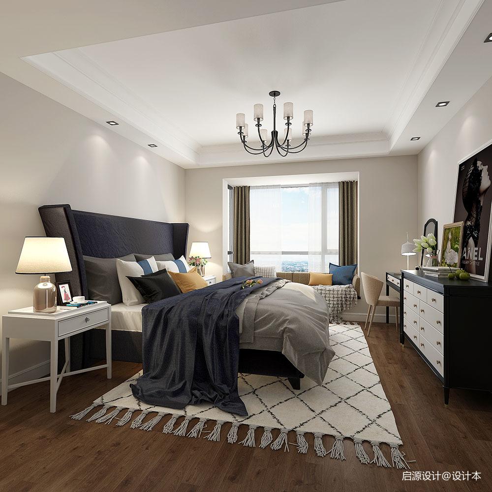 安然年华 • 美而不腻的简美住宅空间_3761502