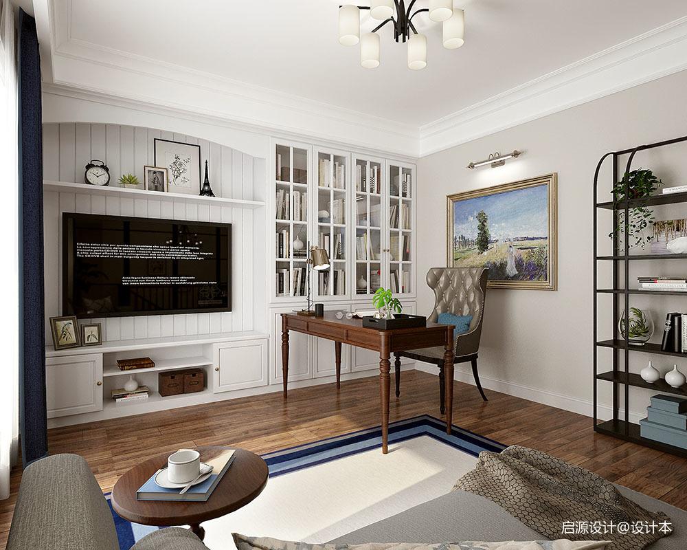安然年华 • 美而不腻的简美住宅空间_3761504