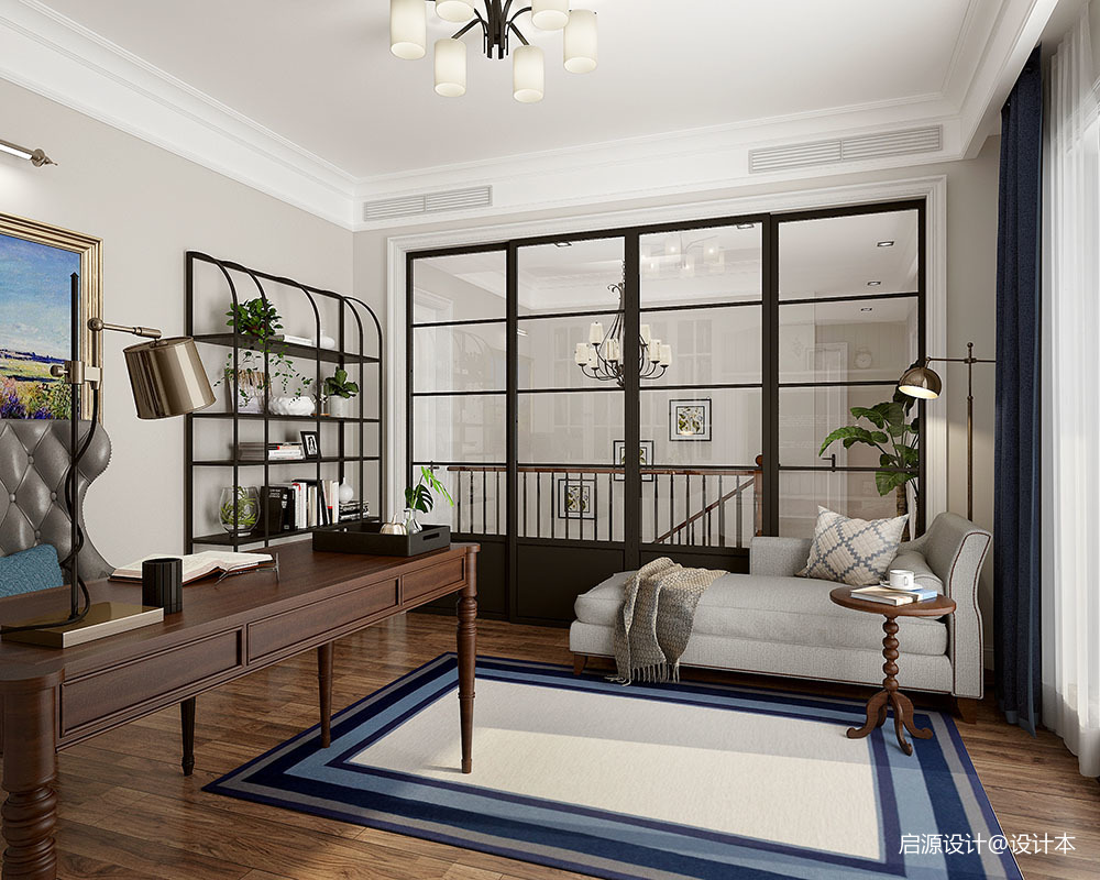安然年华 • 美而不腻的简美住宅空间_3761503