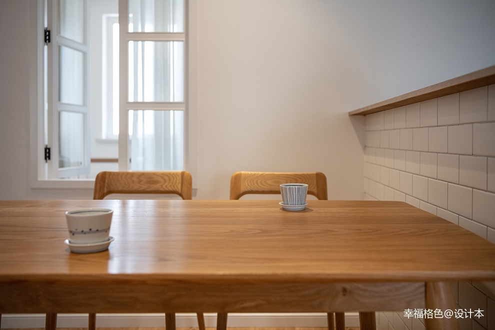 浅木色的日式北欧家,真是太治愈了_3773337