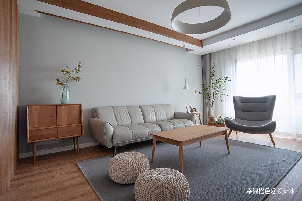 浅木色的日式北欧家,真是太治愈了_3773354