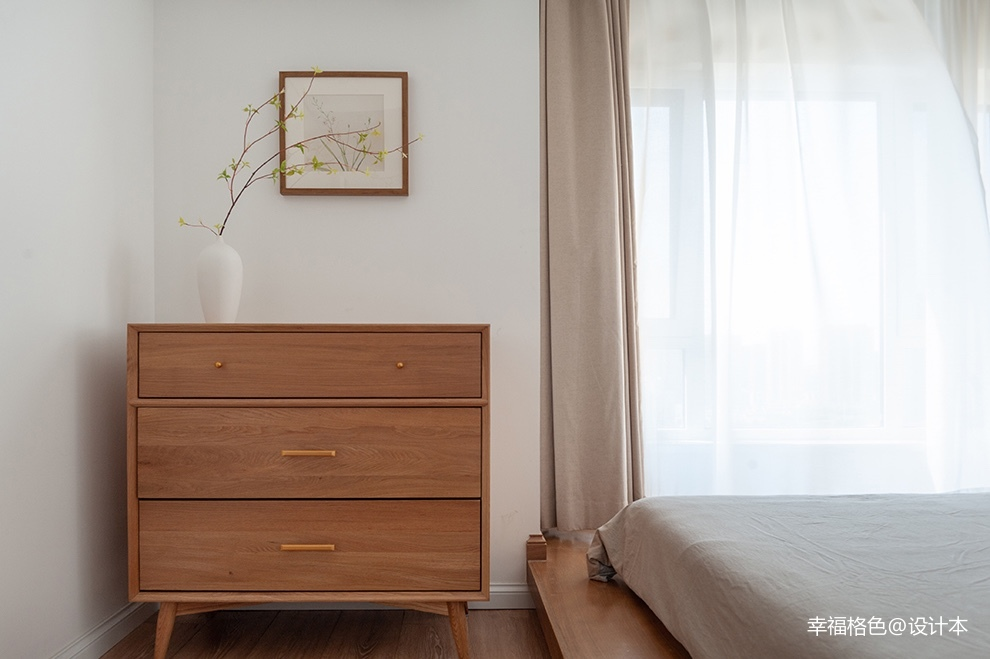 浅木色的日式北欧家,真是太治愈了_3773371