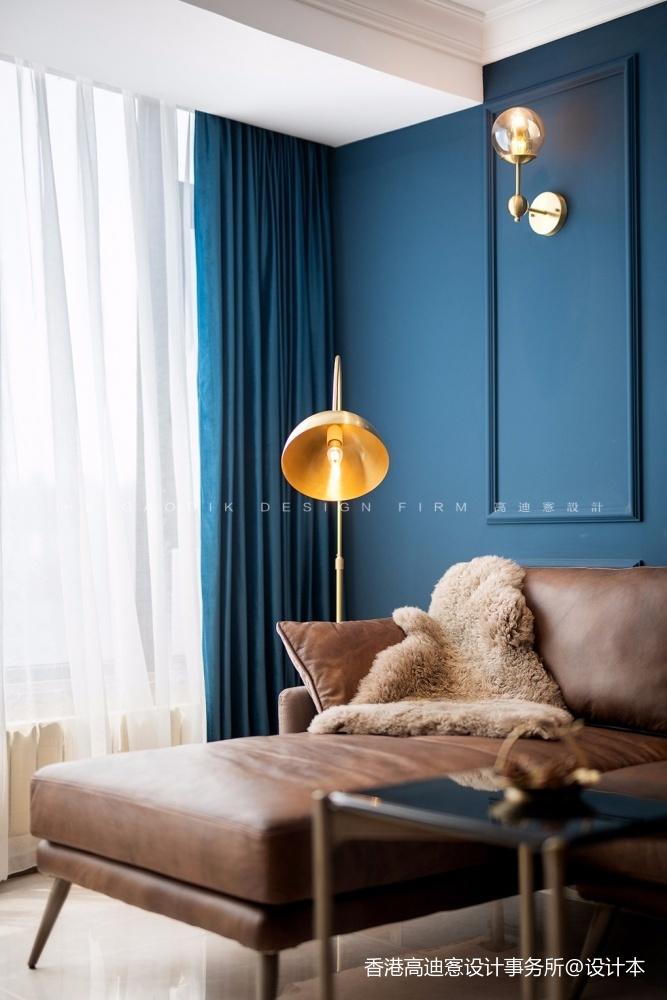 蓝白撞色,这个重度乐高迷的家有点酷!_3796218