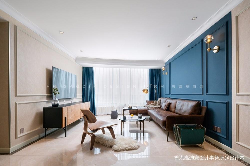蓝白撞色,这个重度乐高迷的家有点酷!_3796223