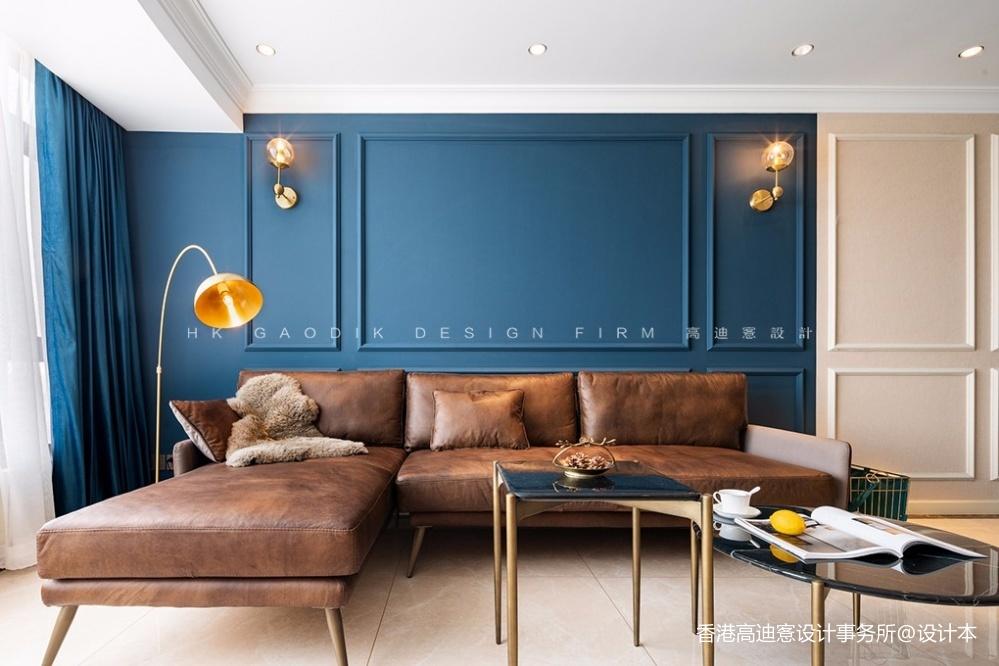 蓝白撞色,这个重度乐高迷的家有点酷!_3796226