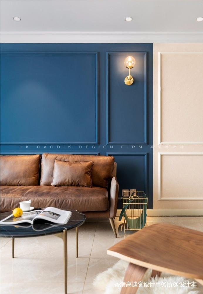 蓝白撞色,这个重度乐高迷的家有点酷!_3796229