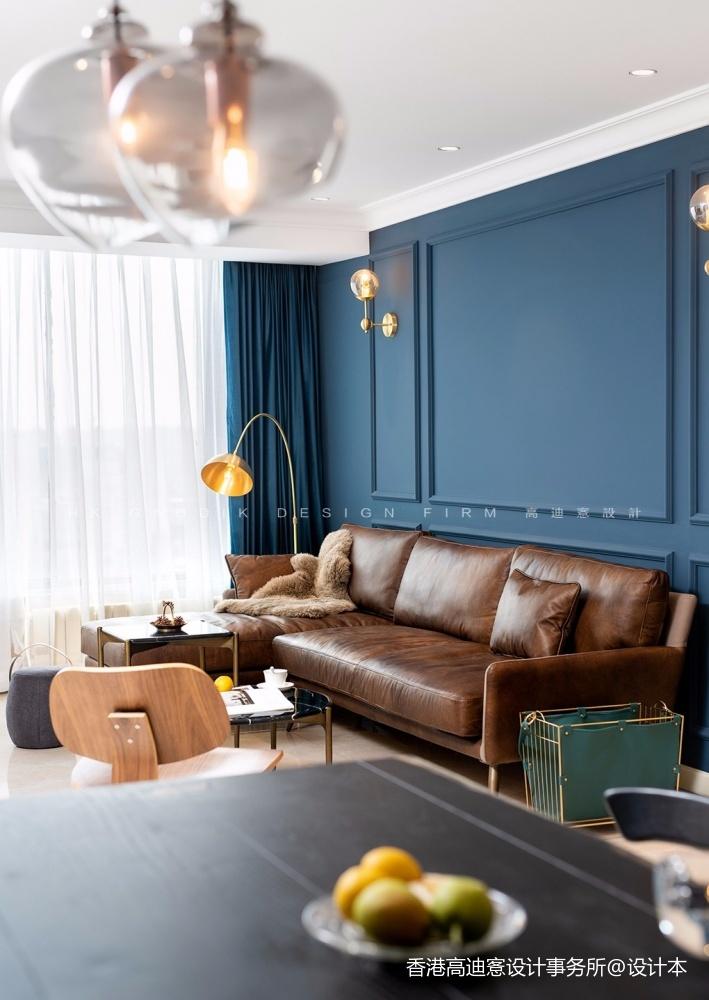 蓝白撞色,这个重度乐高迷的家有点酷!_3796231