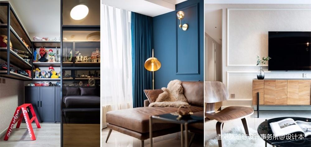 蓝白撞色,这个重度乐高迷的家有点酷!_3796236