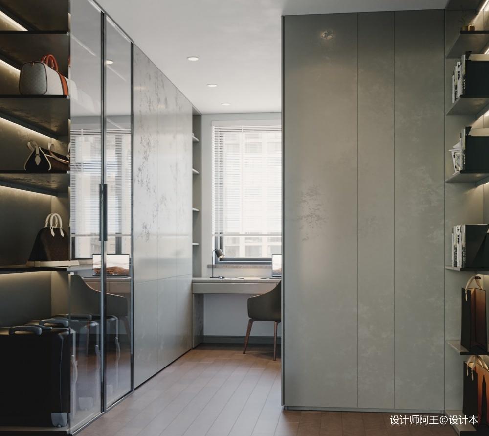 復式樓現代極簡風格設計_3796972