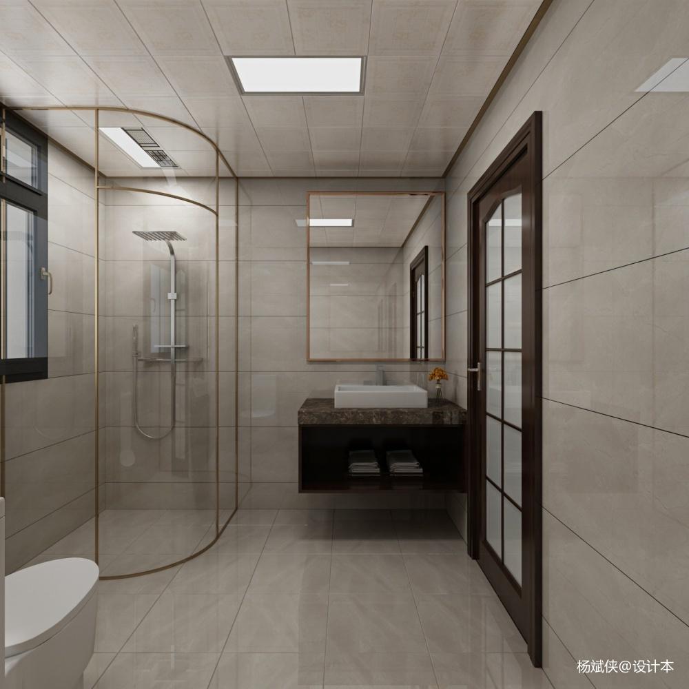 吉首溶江小區新中式全案整裝設計施工_3852537