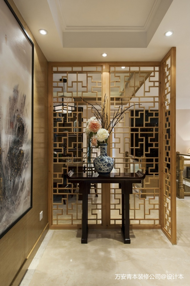 萬安縣影視城頂級全紅木中式古典裝修設計_3864369