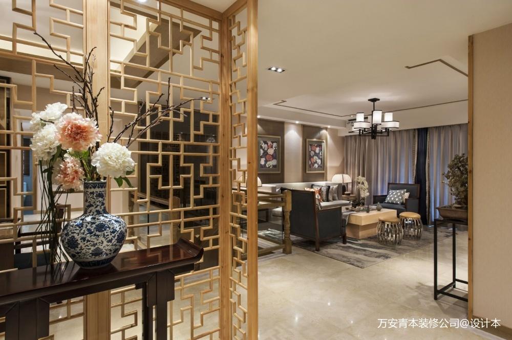 萬安縣影視城頂級全紅木中式古典裝修設計_3864381