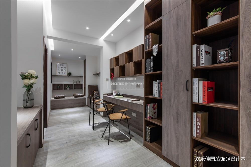 歡樂佳園|現代簡約復式樓,空間改造很實用_3878368