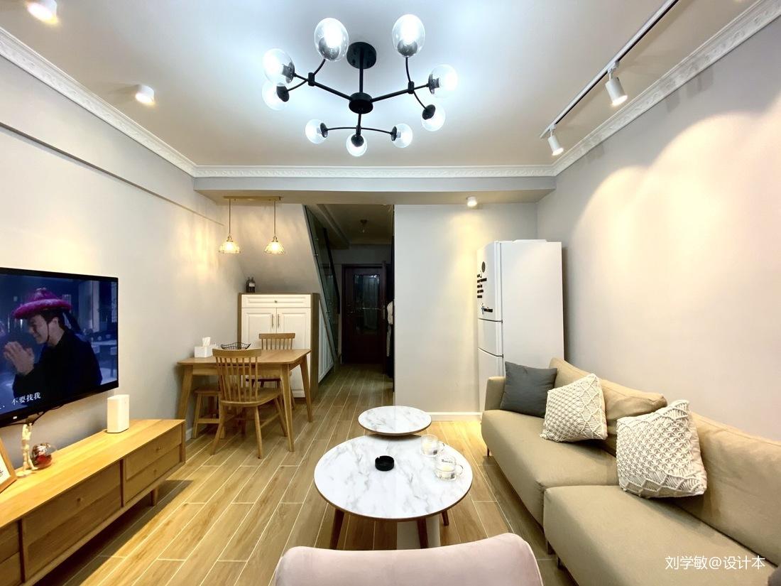 60平方单身复式公寓设计_3916610