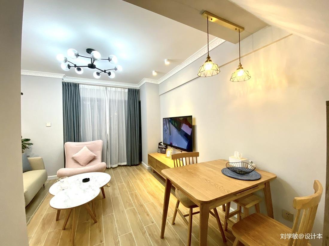 60平方单身复式公寓设计_3916609