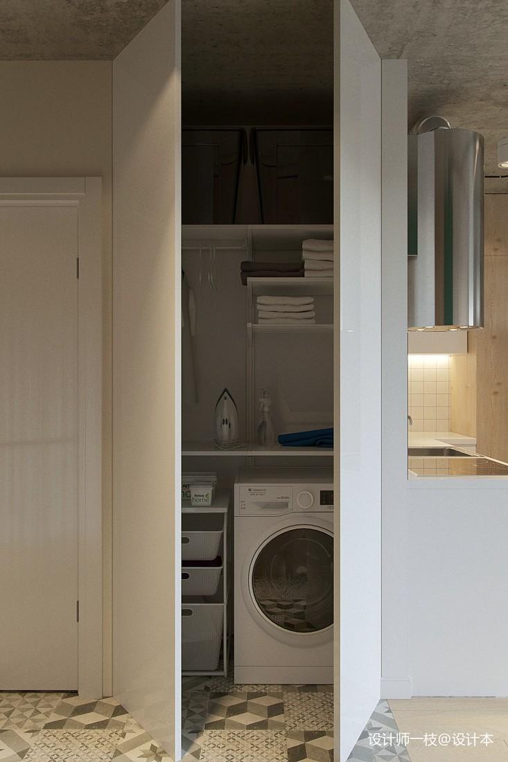 50㎡單身公寓設計,一居室這樣設計剛剛好_4061195